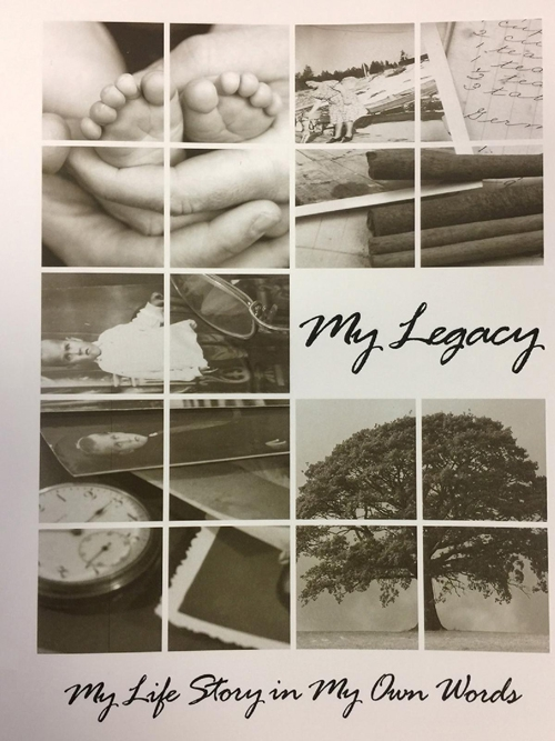 Click here to receive your FREE copy of the MY LEGACY booklet